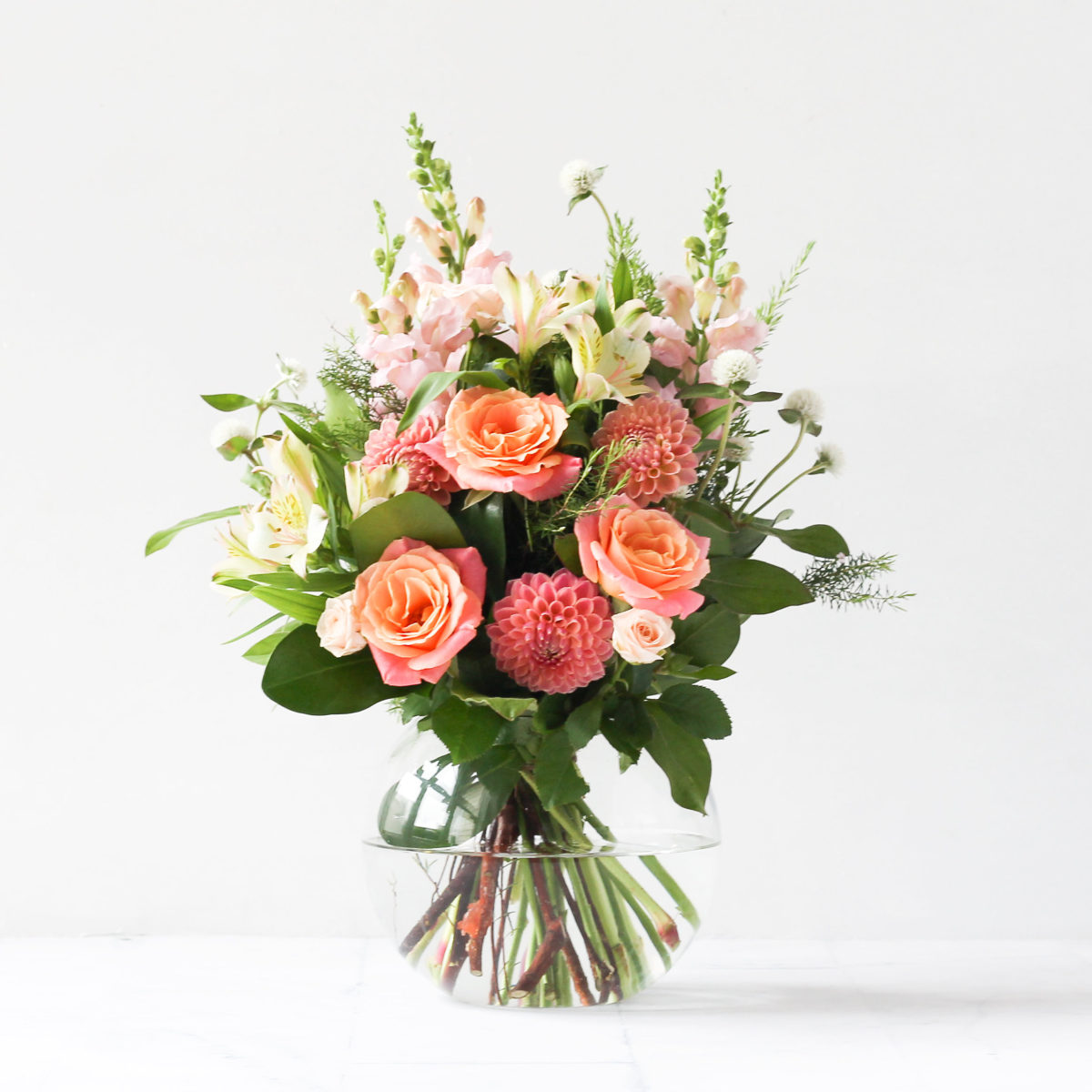 Auckland Florists Pink Bouquet