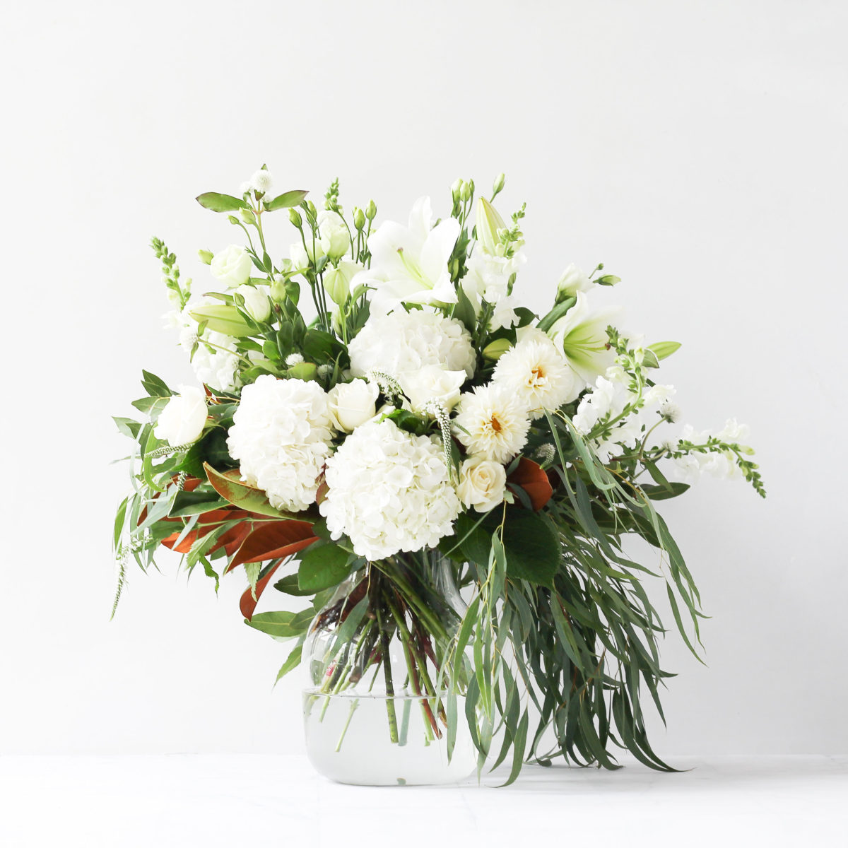 Auckland Florists White Bouquet
