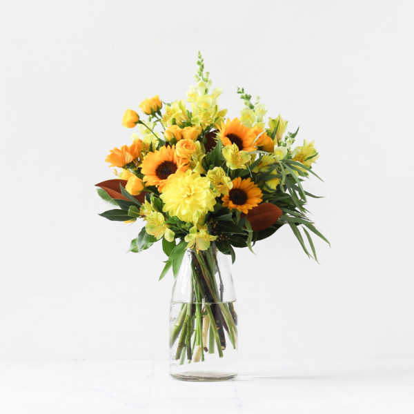 Auckland Florists Yellow Bouquet